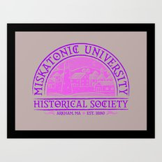 Miskatonic Historical Society Art Print