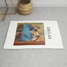 Degas - Blue Dancers Rug