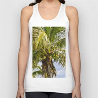 palm trees Tank Tops featuring Palm Trees by Cheryl - DevilBear Photography