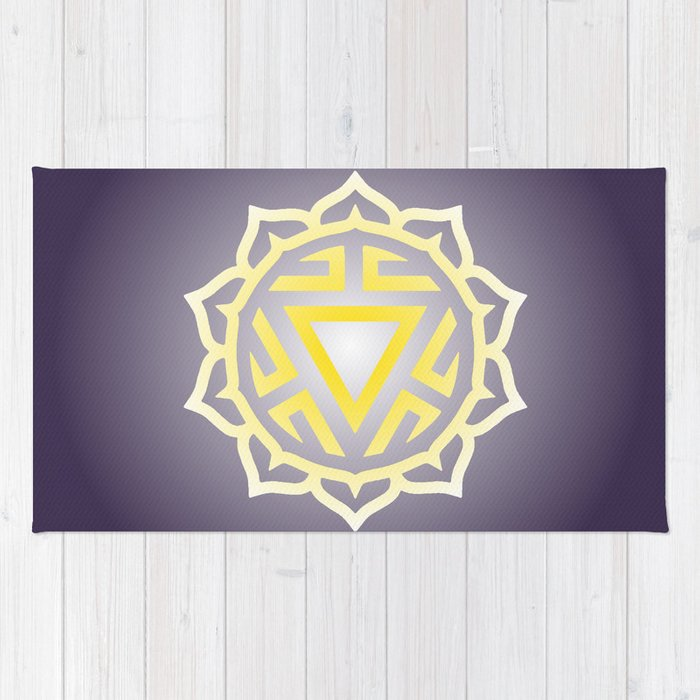 Solar Plexus Chakra Rug