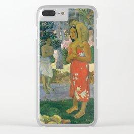 Hail Mary by Paul Gauguin, 1891 Clear iPhone Case