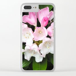 Pink Rhododendron in Spring Clear iPhone Case