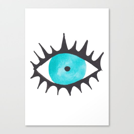 Evil Eye IV Canvas Print