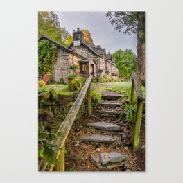 Quaint Tea Room Canvas Print