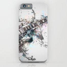 Blue Riff iPhone Case
