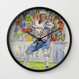 Tom Brady - QB New England Wall Clock