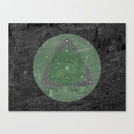 Infinite Trigonometry Canvas Print