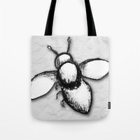 buzz lightyear Tote Bags featuring Buzz by Jessica Jimerson