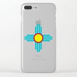 Zia Sun Clear iPhone Case