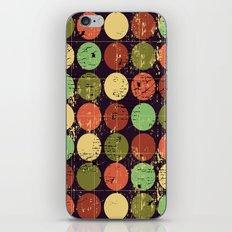 Circles 2 iPhone & iPod Skin