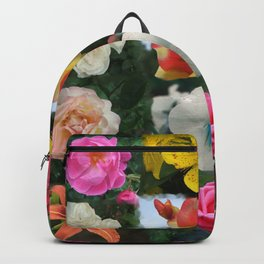 Floral Mosaic Backpack