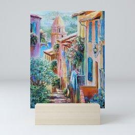 Colors of Collioure, France Mini Art Print