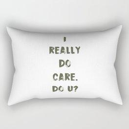 DO U? Rectangular Pillow