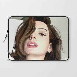 Pretty girl selfie Laptop Sleeve