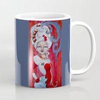 marie antoinette Mugs featuring Marie-Antoinette by CokecinL