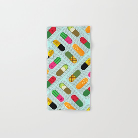 FruitPills Hand & Bath Towel