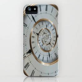Time goes on and on.... iPhone Case