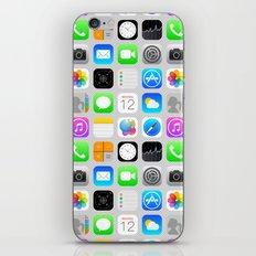 Phone Apps (Flat design) iPhone & iPod Skin