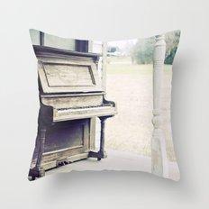 piano II Throw Pillow