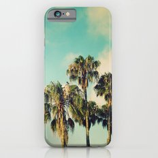 Palms Blue iPhone 6s Slim Case