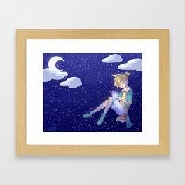 Kagamine Len - Satisfaction Framed Art Print