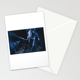 Rope noose - Nude woman with a noose around her neck Stationery Cards