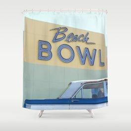 Beach Bowl Shower Curtain