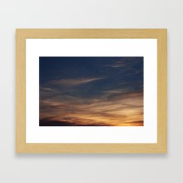 Burning Framed Art Print