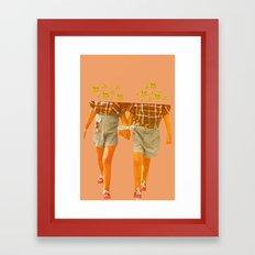Unusual Thing Framed Art Print