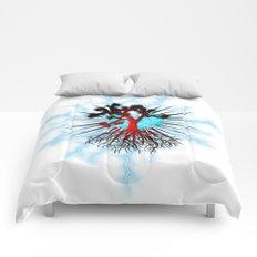Joshua Tree Heart Light by CREYES Comforters