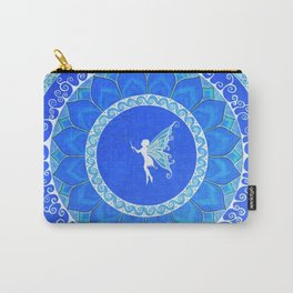 Fairy Garden white Carry-All Pouch