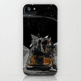 The quest for the Moon iPhone Case
