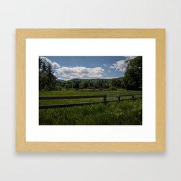 The Heart Of America. Framed Art Print
