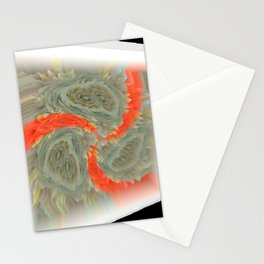 "Random 3D No. 72 ""Framed whirl"" Stationery Cards"