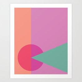 Cacho Shapes LXXX Art Print