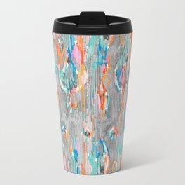 rainy day balinese ikat mini Travel Mug
