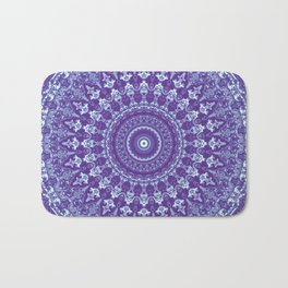 Ornate mandala Bath Mat