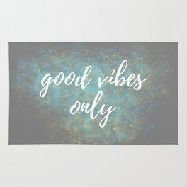 Good Vibes - Blue Yellow Rug