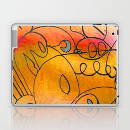 Curves at Sunset Laptop & iPad Skin