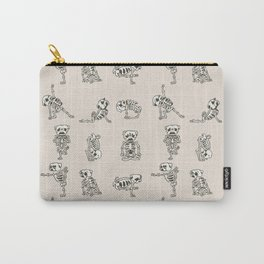 Skeleton Pug Yoga Carry-All Pouch