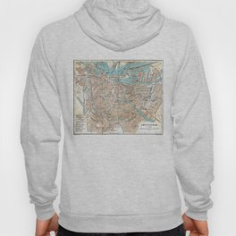 Vintage Map of Amsterdam (1905) Hoody