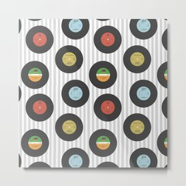 Vinyl Collection Metal Print