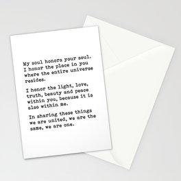 Namaste, Namaste Meaning, Namaste Definition Stationery Cards
