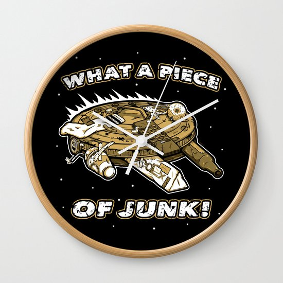 What a Piece of Junk! Wall Clock