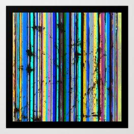 Stripe, color Art Print