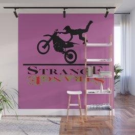 Strange Style Poster Wall Mural