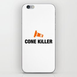 Cone Killer v4 HQvector iPhone Skin