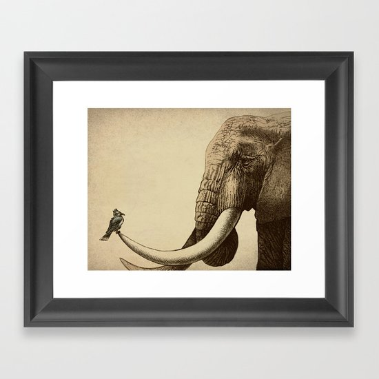 Old Friend Framed Art Print