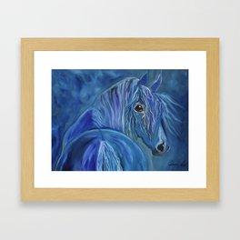 Gypsy Horse Framed Art Print