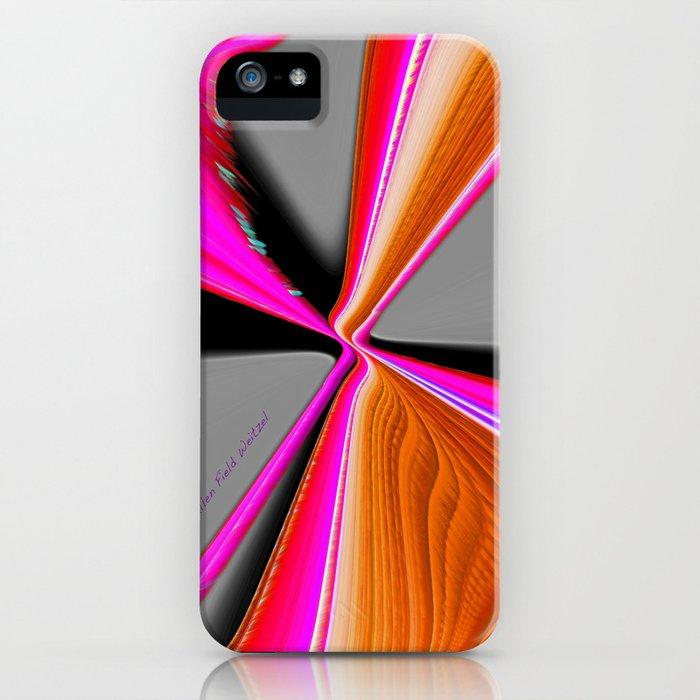 """Christmas Ribbon"" Print iPhone Case"